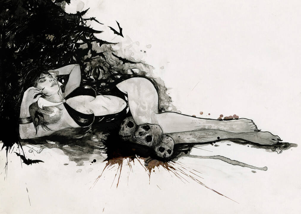 Artist Portfolio: Amliv Sotomayor